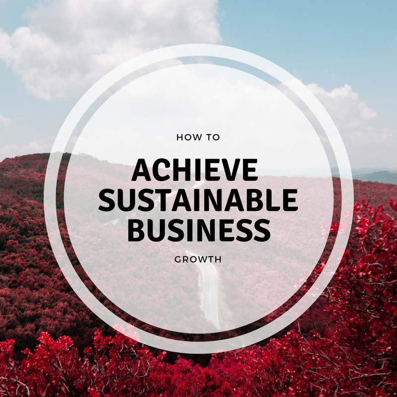 How To Achieve Sustainable Business Growth