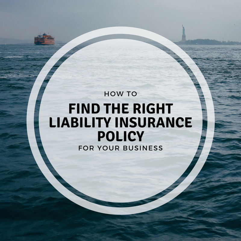 The Right Liability Insurance Policy for Small Business