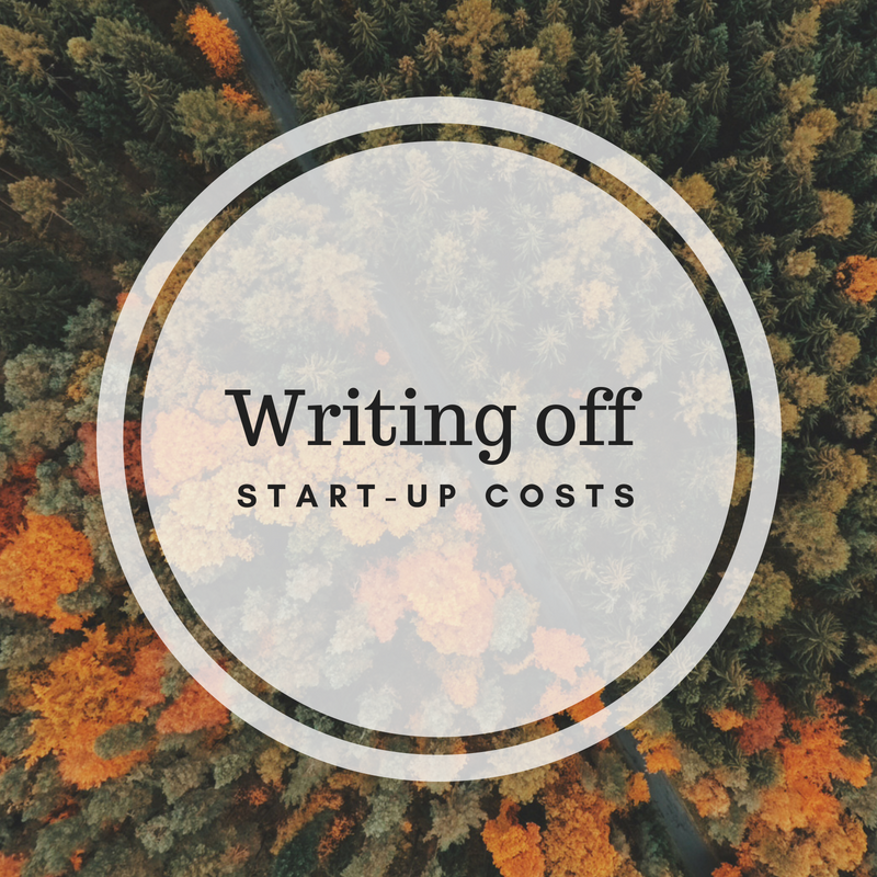 Writing Off Startup Costs
