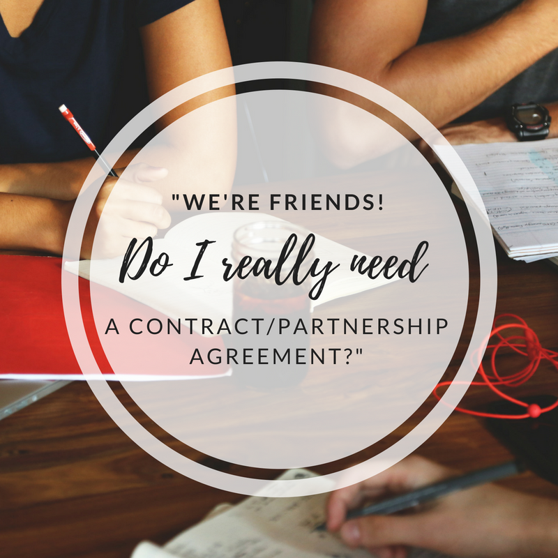 Do I Really Need a Partnership Agreement?