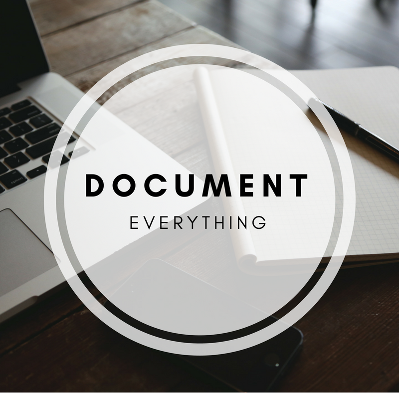 Why It's Important to Document Everything