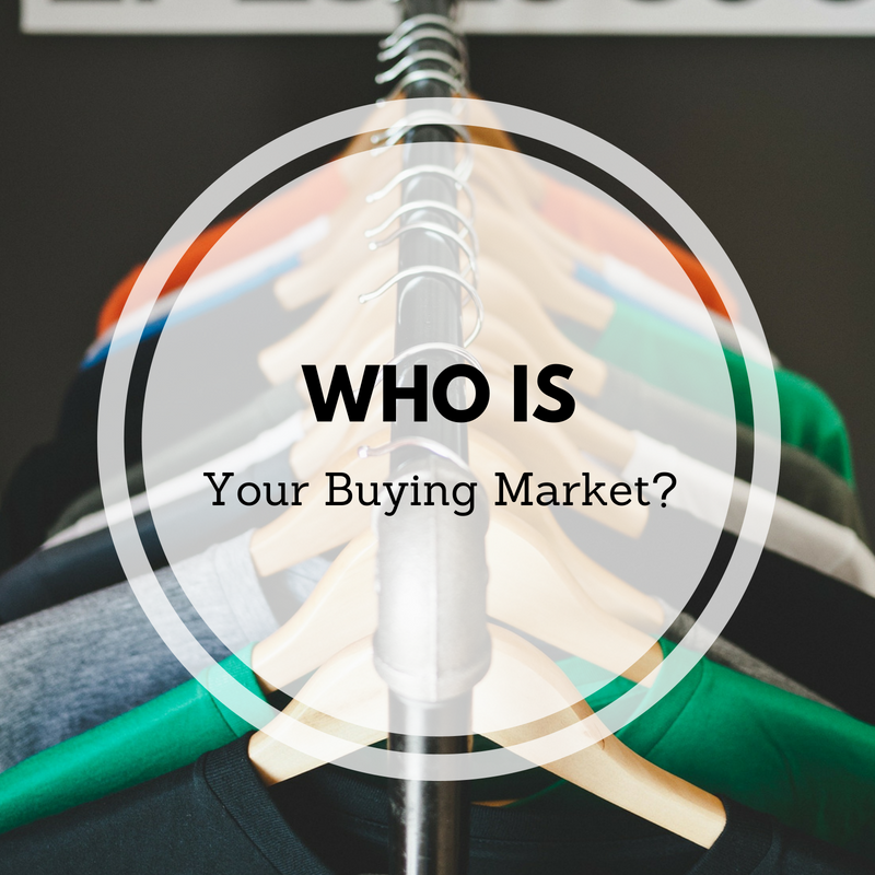 Learn To Identify Your Buying Market