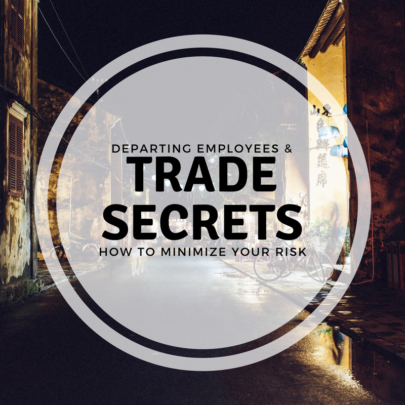 How To Minimize Risk on Trade Secrets